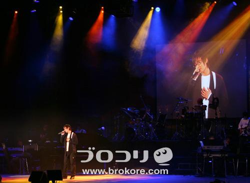 カンタ、日本での初単独コンサート「KANGTA JAPAN 1st コンサート 2007」