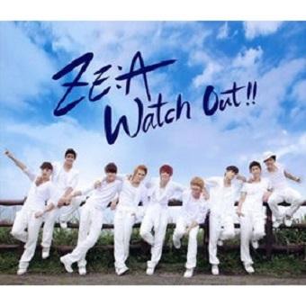 ZE:A 「Watch Out !!~熱愛注意報~」【Type-A】