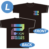 [Empire of ZE:A-episode3-] Tシャツ(黒) Lサイズ