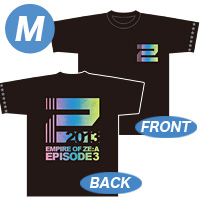 [Empire of ZE:A-episode3-] Tシャツ(黒) Mサイズ