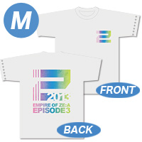 [Empire of ZE:A-episode3-] Tシャツ(白) Mサイズ